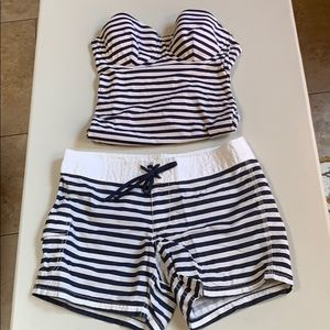 J Crew Swimsuit and Board Shorts